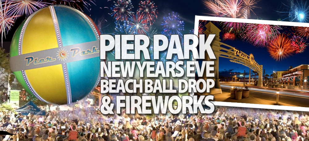 Pier Park New Year's Ball Drop