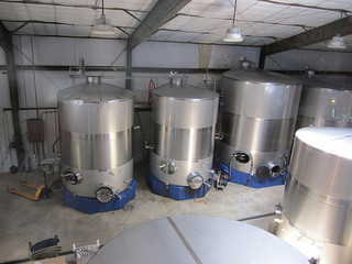 Chautauqua Winery Tanks - Image Credit: https://www.flickr.com/photos/infrogmation/4726858441/